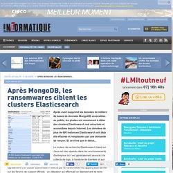 Après MongoDB, les ransomwares ciblent les clusters Elasticsearch