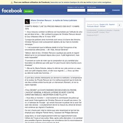 """COMPTE RENDU """"LIVE"""" DU PROCES RANUCCI... - Affaire Christian Ranucci : le mythe de l'erreur judiciaire"""