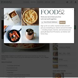 Rao's Meatballs Recipe on Food52