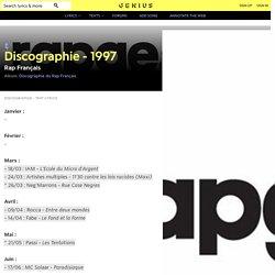 RapFrançais – Discographie - 1997