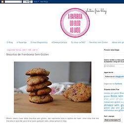 Biscoitos de framboesa Sem Glúten