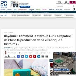 Bayonne: Comment la start-up Lunii a rapatrié de Chine la production de sa « Fabrique à Histoires »