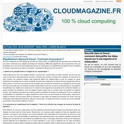 Rapatriement depuis le Cloud : Comment et pourquoi ?