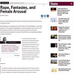 Human Nature : Rape, Fantasies, and Female Arousal