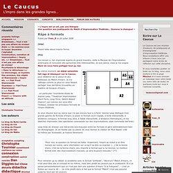 Râpe à formats « Le Caucus