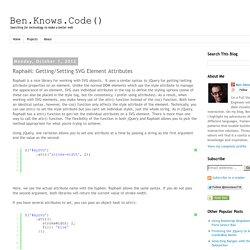 Ben.Knows.Code(): Raphaël: Getting/Setting SVG Element Attributes