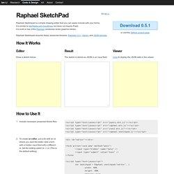 Raphael SketchPad