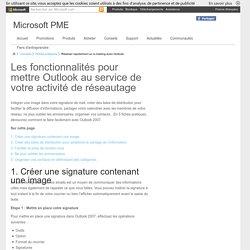 Réaliser rapidement un e-mailing avec Outlook - Microsoft pour les Petites et Moyennes Entreprises