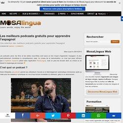 MosaLingua : Application pour apprendre rapidement l'espagnol et l'anglais sur téléphone mobile