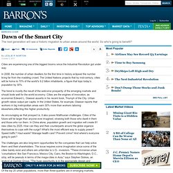 Rapidly Growing Cities Adopt Smart Technology