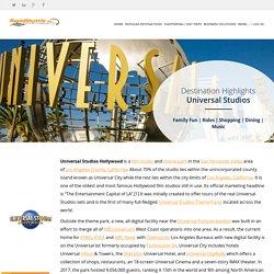 Universal Studios, CA - RapidShuttle 24/7 - Professional Transportaion Services