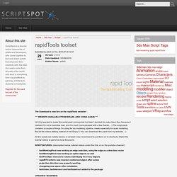 rapidTools toolset