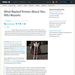 What Rapleaf Knows About You: WSJ Reports: Tech News ?