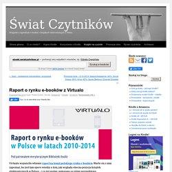 Raport o rynku e-booków z Virtualo