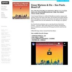 » Cesar Mariano & Cia – Sao Paulo Brasil LP