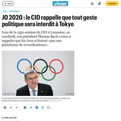 JO 2020 : le CIO rappelle que tout geste politique sera interdit à Tokyo