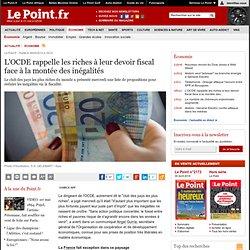 L'OCDE rappelle les riches à leur devoir fiscal face à la montée des inégalités