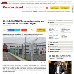 AILLY-SUR-SOMME Le rapport accablant sur les conditions de travail chez Bigard - Val de Nièvre, Val de Somme