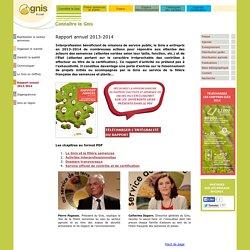GNIS - DEC 2014 - Rapport annuel 2013-2014