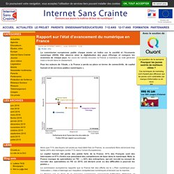 Rapport sur l'état d'avancement du numérique en France