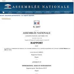 2857 annexe 27 - Rapport de Mme Béatrice Pavy sur le projet de loi de finances pour 2011 (n°2824)
