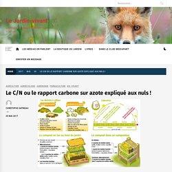 Le C/N ou le rapport carbone sur azote expliqué aux nuls ! - Le Jardin-vivant
