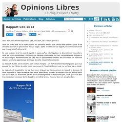 Rapport CES 2014