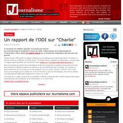 """Un rapport de l'ODI sur """"Charlie"""""""
