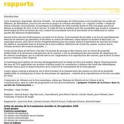 Rapport Cordier