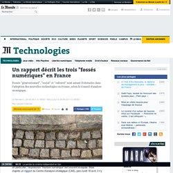 """Un rapport décrit les trois """"fossés numériques"""" en France"""