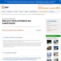 Rapport de Développement Durable 2013 – EDF