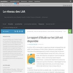 Le rapport d'étude sur les LéA est disponible – Le réseau des LéA