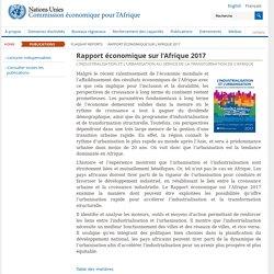 Nations Unies Commission économique pour l'Afrique
