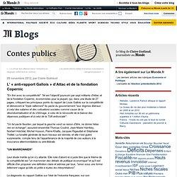 «anti-rapport Gallois» d'Attac et de la fondation Copernic