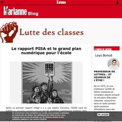Le rapport PISA et le grand plan numérique pour l'école