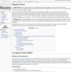 Rapport Hirsch - Oleowiki