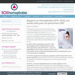 Rapport 2019 - SOS Homophobie
