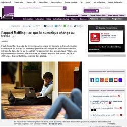 Rapport Mettling : ce que le numérique change au travail