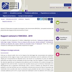 Rapport national OFDT 2019