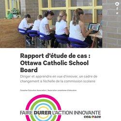 Rapport d'étude de cas : Ottawa Catholic School Board