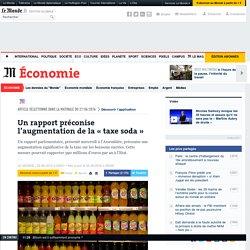Un rapport préconise l'augmentation de la «taxe soda»