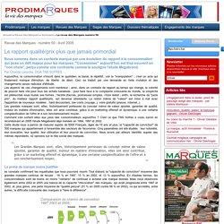 Le rapport qualité/prix plus que jamais primordial - Chantal Lasocka