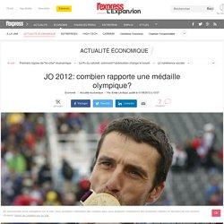 JO 2012: combien rapporte une médaille olympique?