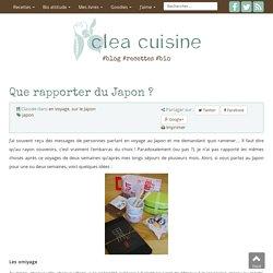 » Que rapporter du Japon ?
