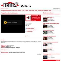video Rapporteur de crise, le teaser - crise, bérès, parlement
