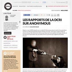 Les rapports de la DCRI sur Anonymous
