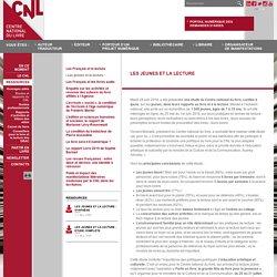 Les jeunes et la lecture - Études et rapports du CNL - Ressources - Site internet du Centre national du livre