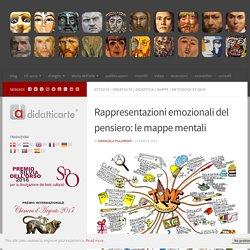 Rappresentazioni emozionali del pensiero: le mappe mentali