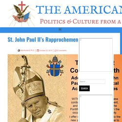 St. John Paul II's Rapprochement with Science* – The American Catholic