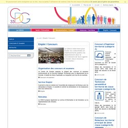 Le service emploi du Centre de Gestion de la Gironde a pour vocation de faciliter le rapprochement entre les candidats et les employeurs territoriaux